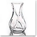 "Baccarat Crystal, Serpentin 10"" Crystal Vase"