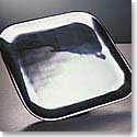 "Nambe Metal Square 9"" Salad Plate"