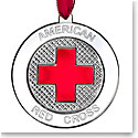 Waterford Red Cross Ornament