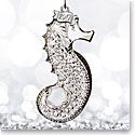 Waterford Crystal, 2017 Seahorse Crystal Ornament