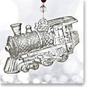 Waterford Crystal, 2017 Train Engine Crystal Ornament