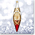 Waterford 2017 Holiday Heirloom Nostalgic Collection Peacock Grande Iced Spire Ornament