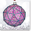 Waterford Holiday Heirloom 2018 Times Square Replica Ball Ornament