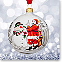 Waterford Crystal, 2017 Holiday Heirloom Magic of Christmas Ball Ornament