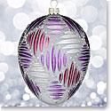 Waterford 2017 Holiday Heirloom Sensations Grafix Egg Ornament