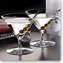 Waterford Crystal, Elegance Crystal Martini Glass, Pair