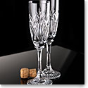 Waterford Crystal, Emilia Toasting Crystal Flutes, Pair
