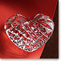 Waterford Crystal, Celtic Heart Crystal Paperweight