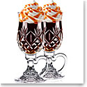 Waterford Huntley Irish Coffee Crystal Glasses, Pair