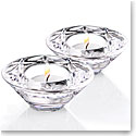 Waterford Crystal, Huntley Heritage Tealight Crystal Votives, Pair