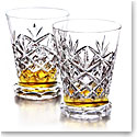 Waterford Huntley Footed Whiskey Tasting Glasses, Pair