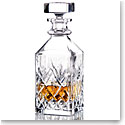 "Waterford Crystal Huntley Square Whiskey 9"" Decanter"