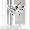 Waterford Crystal Huntley Martinis, Pair