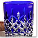 Waterford Crystal, Classic Lismore Cobalt Crystal DOF Tumbler, Pair