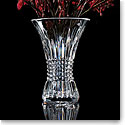 "Waterford Crystal, Lismore Diamond 8"" Crystal Vase"