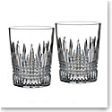Waterford Lismore Diamond DOF, Pair