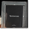 "Waterford Crystal, Lismore Diamond 8 x 10"" Picture Frame"