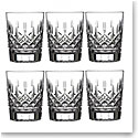 Waterford Crystal, Lismore Crystal DOF Tumblers, Boxed Set 5 1 Free