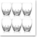 Waterford Crystal, Lismore Essence Crystal DOF Tumblers, Boxed Set 5+1 Free