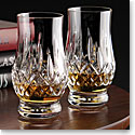 Waterford Lismore Whiskey Tasting Footed Tumbler, Pair