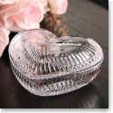 Waterford Crystal Covered Heart Box