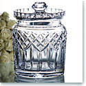 Waterford Crystal, Lismore Crystal Biscuit Barrel with Lid
