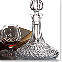 Waterford Crystal, Lismore Crystal Ships Decanter