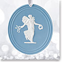 Wedgwood Muse 2017 Annual Blue Jasperware Ornament
