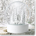 Wedgwood White Snow Globe