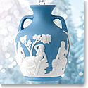 Wedgwood Iconic Portland Vase Blue Ornament