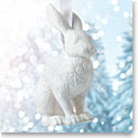 Wedgwood 2017 Figural Hare White Ornament
