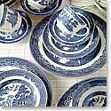 Johnson Brothers China Willow Blue 5 Piece Set
