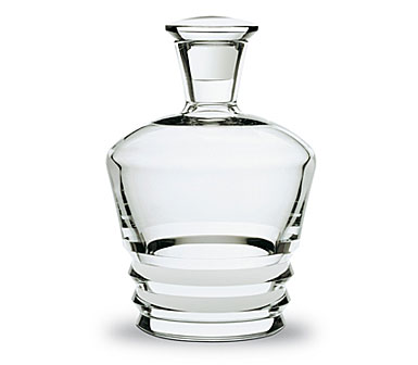 Baccarat Crystal, Vega Round Whiskey Crystal Decanter