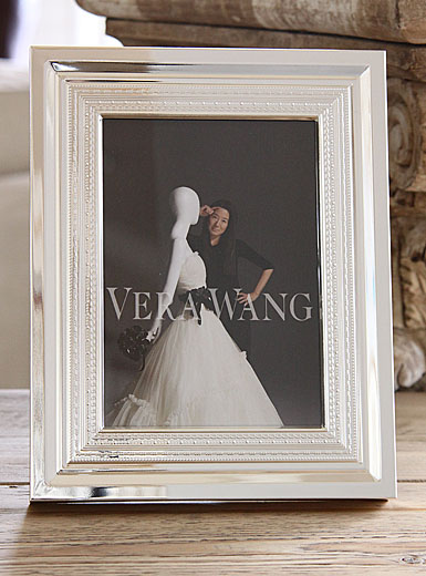 Wedgwood Vera Wang With Love Silver 4 x 6 Frame