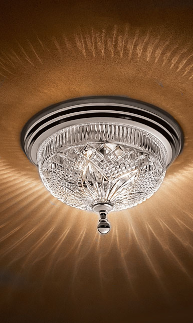 Waterford Beaumont 12 silver luna ceiling fixture