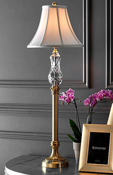 "Waterford Lismore Buffet 35 1/2"" Lamp"