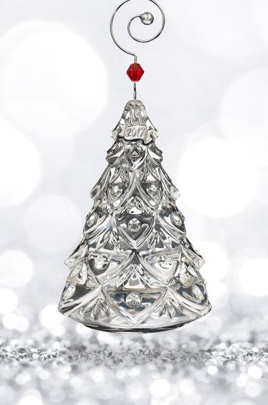 Waterford 2017 Mini Tree Ornament