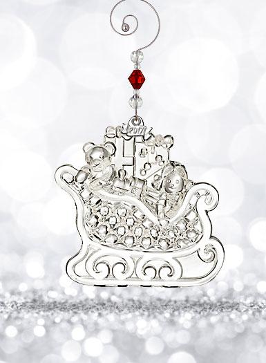 Waterford Crystal, 2017 Christmas Wonders Crystal Ornament