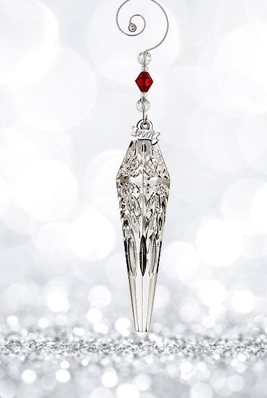 Waterford 2017 Icicle Ornament