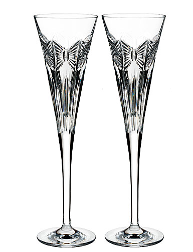 Waterford 2018 Times Square Flute, Pair