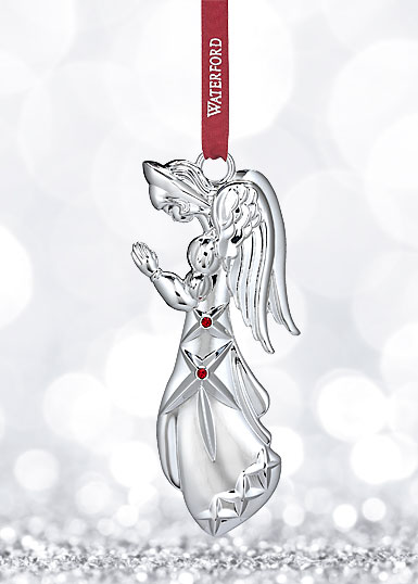Waterford 2017 Silver Annual Angel Ornament