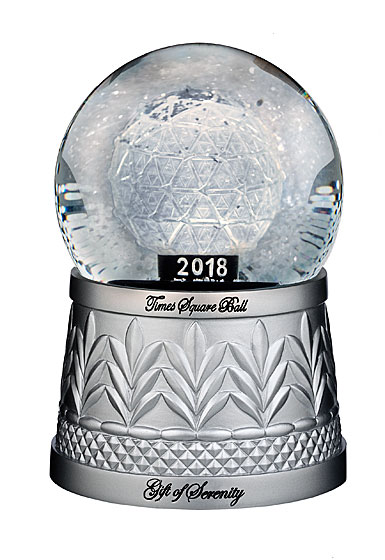 Waterford Holiday Heirloom 2018 Times Square Snowglobe