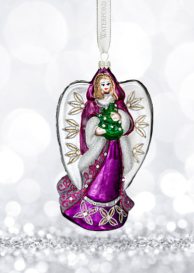 Waterford Holiday Heirloom Sensations Ava Angel Ornament