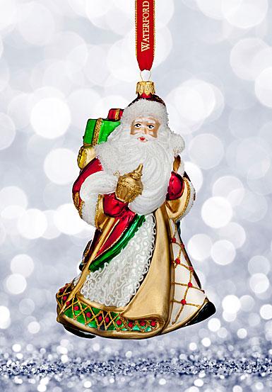 Waterford 2017 Holiday Heirloom Miraculous Santa Ornament