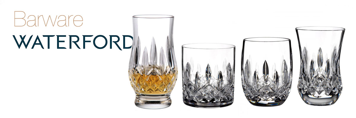 waterford crystal barware collection - crystal classics