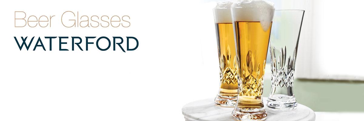Waterford Beer Glasses