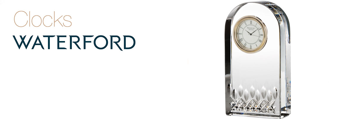 Waterford Crystal Clocks Collection Cashs Of Ireland