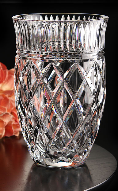 "Waterford Crystal, Eastbridge 8"" Crystal Vase"