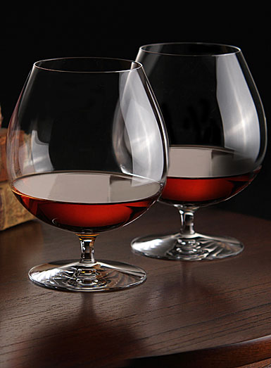Waterford Crystal, Elegance Crystal Brandy Glass, Pair