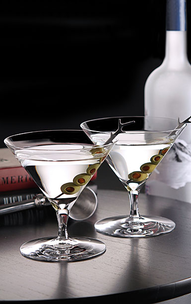Waterford Crystal, Elegance Martini Glasses, Pair